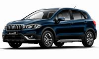 Suzuki SX4 S-Cross in Sphere Blue Pearl Metallic