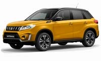 Suzuki Vitara in Solar Yellow Pearl Metallic